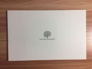EXO x Nature Republic photo book