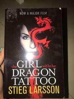 novel girl with dragon tattoo 1