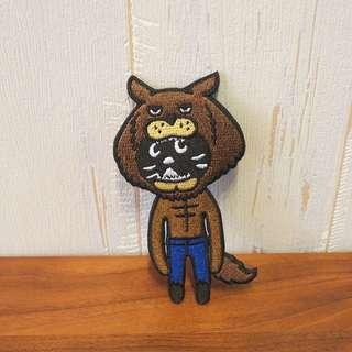 日本Ne-net Nya貓貓扣針pin badge萬聖節