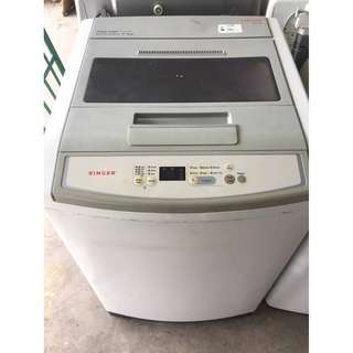 Singer 8.8kg Washing Machine Mesin Basuh Recon