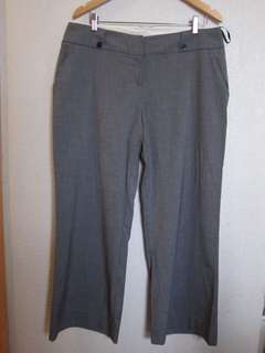 Dorothy Perkins Grey Office Pants, size 16