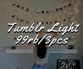 PROMO 3PCS TUMBLR LIGHT MURAAHH
