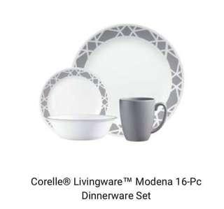 corelle livingware 16 pcs