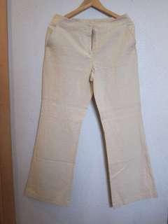 Women's Linen Pants, waist 36