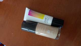Cos cos foundation & Revlon colourstay