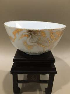 Vintage porcelain bowl