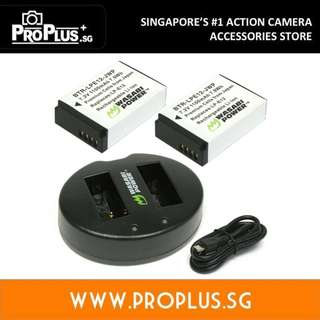 Wasabi Power Battery Set for Canon LP-E12