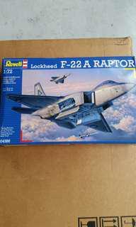 F22A Raptor 1/72 Revell