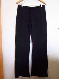 Black Soft Drawstring Pants