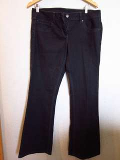 Black Denim Pants, waist 36-38