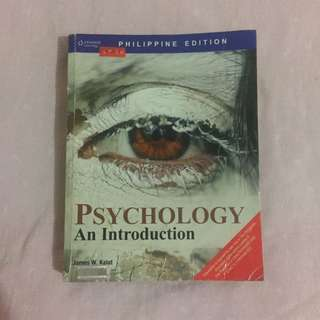 Psychology Book (Feu Med-tech Students Used)