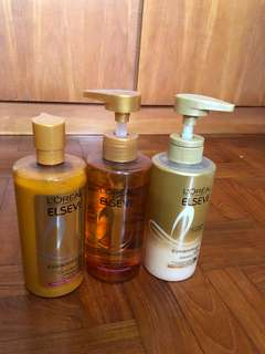 L'Oréal Shampoo and Conditioners