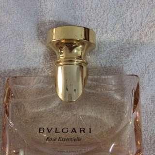 Bvlgari rose essential parfume (authentic)