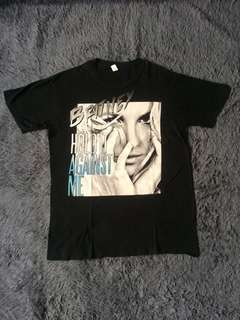 Kaos merch Britney Spears