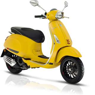 Vespa sprint sport 150 $14.9k Free Top-box OTR B4 Insurance   D/P $500 or $0 With out insurance (Terms and conditions apply. Pls call 67468582 De Xing Motor Pte Ltd Blk 3006 Ubi Road 1 #01-356 S 408700.