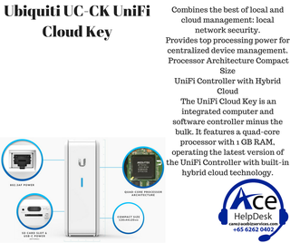 🚚 Ubiquiti UC-CK UniFi Cloud Key
