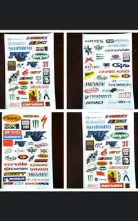 Bicycle Decal - Good Quality and Water Proof