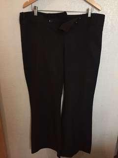 Dorothy Perkins Black Office Pants, size 16