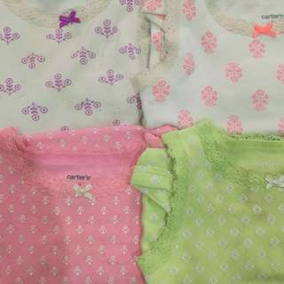 Jumper kutung carter's 4 packs 6-9m