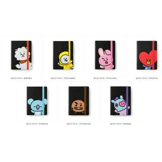 【Korea Buying Service】Monopoly x BT21 Notebook