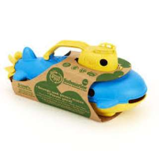 Green Toys Submarine in Yellow