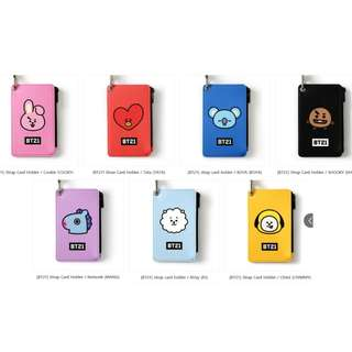 【Korea Buying Service】Monopoly x BT21 Strap Card Holder