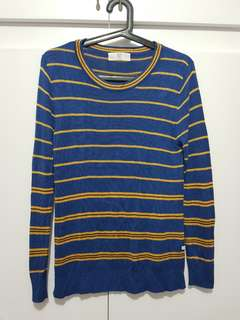 Striped knit top from Bayo