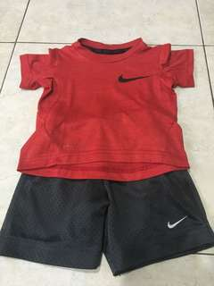 Nike dry fit set