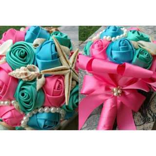 💐INSTOCKS💐 NEW WEDDING ENGAGEMENT TROPICAL FLORAL FLOWER ROSE BOUQUET