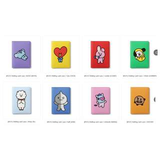 【Korea Buying Service】Monopoly x BT21 Folding Card Case