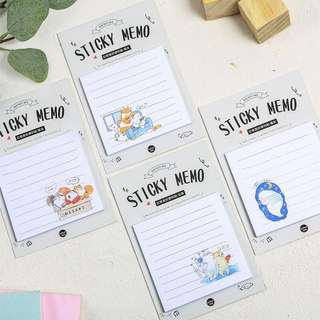 Sticky Memo / Post it Notes / Cute Stationeries