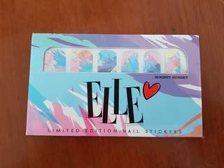 ELLE LIMITED EDITION NAIL STICKER