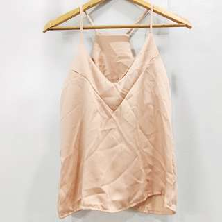 Silk cami top