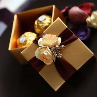 Ferrro Rocher Weding Favors/ Gift Box/ Berkat