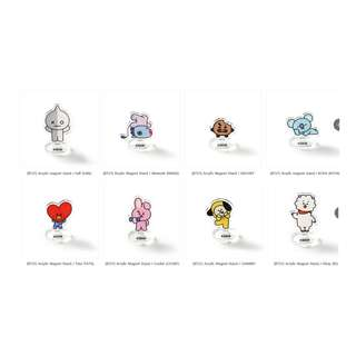 【Korea Buying Service】Monopoly x BT21 Acrylic Stand