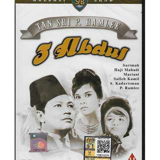 P. Ramlee Movie DVD 3 Abdul