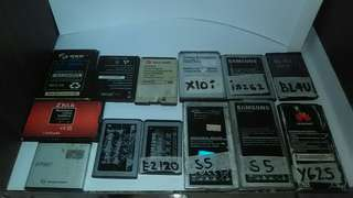 Secondhand batteries for cp and tablet