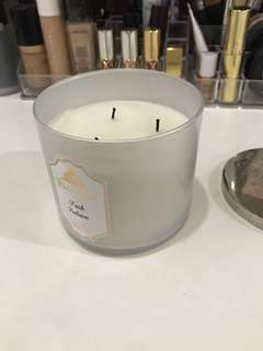 Bath and Body Works 3 Wick Candle Fresh Balsam