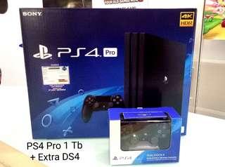 Kredit PS4 Pro 1Tb Extra DS4 Tanpa Kartu Kredit