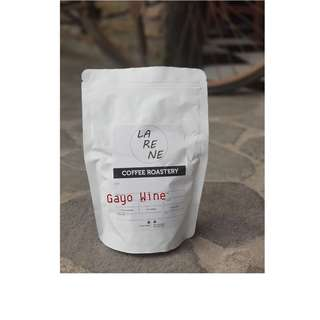"Roasted Bean ""Gayo Wine"" 250gram"