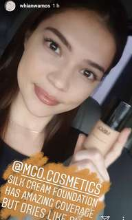 Silk Cream Liquid Foundation
