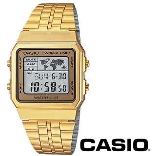 深水步門市 全新1年保養 七天有壞包換 卡西歐 CASIO A500WGA-9D