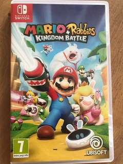 Nintendo Switch Mario+Rabbids Kingdom Batttle