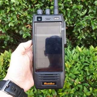 Hape Plus HT Runbo H1 DMR UHF 400-450 New 4G LTE IP67 Certified