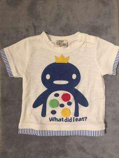 日本T-shirt (12-18m)