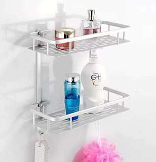2 Layer Bathroom Rack