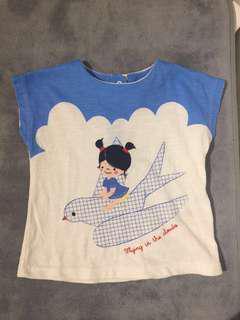 M&S T-shirt (12-18m)