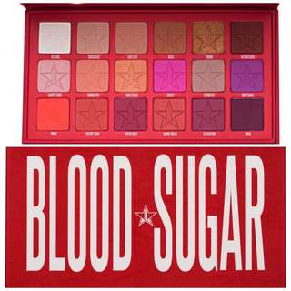 BN JEFFREE STAR BLOOD SUGAR EYESHADOW PALETTE
