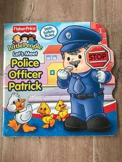 Let's meet Police Officer Patrick children book