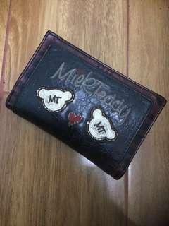Milk Teddy Wallet / dompet